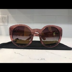 DIFF Sunglasses- pink